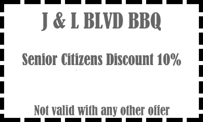 Coupon Barbeque Restaurant Tonawanda NY - senior citizen discount